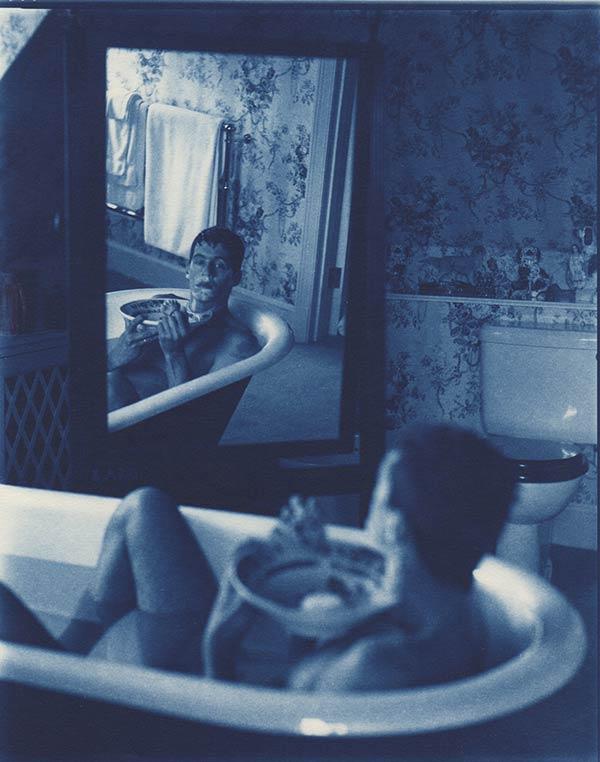 </p> <p>جان داگلاس، اتکا به خود، ۱۹۹۸، کیانوتایپ، مجموعه گالری هولدن لونتز