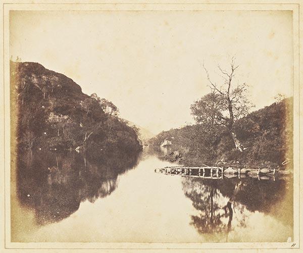 </p> <p>ویلیام هنری فاکس تالبوت، دریاچه کاترین، ۱۸۴۴، از مجموعه برنامه محتوای آزاد گتی