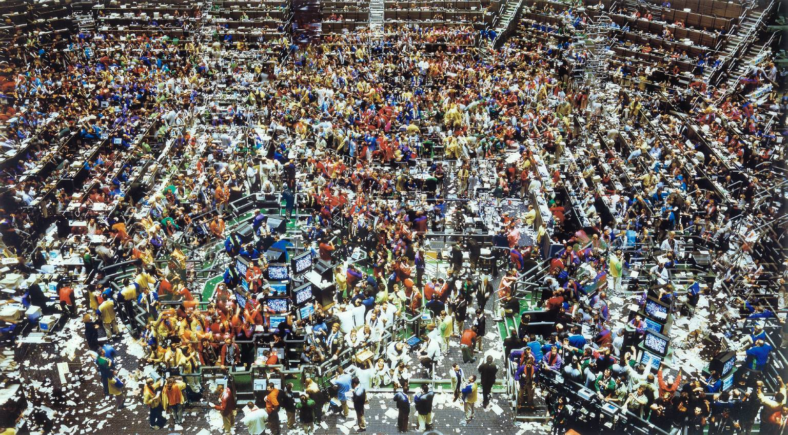 Andreas Gursky, Chicago, Board of Trade, 1999