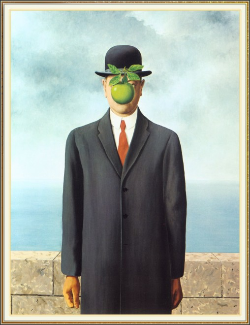 """Son of Man"" by Rene Magritte<br /><br /><br /><br />"